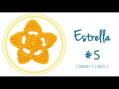 ESTRELLA A CROCHET #5 | Patrones Valhalla
