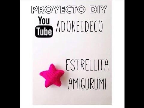 Tutorial crochet estrella amigurumi