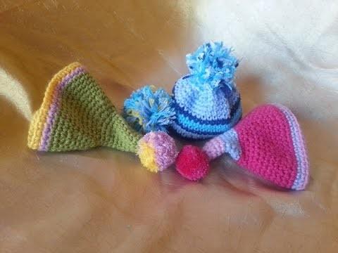 Tutorial crochet.ganchillo diferentes formas de hacer un pompon