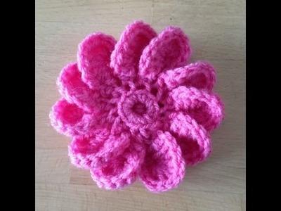 Tutorial Flor a Crochet