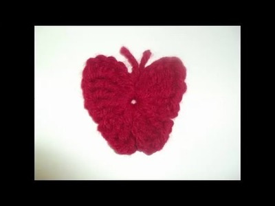 Tutorial mariposa de crochet paso a paso muy fácil y rápido. Ganchillo para principiantes.