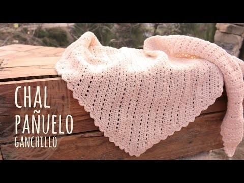 Tutorial Pañuelo | Chal Vintage Ganchillo o Crochet