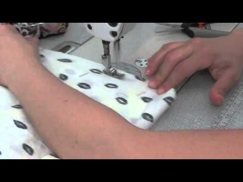 Como hacer Una Blusa Circular Escote Halter - How To Make A Halter Blouse