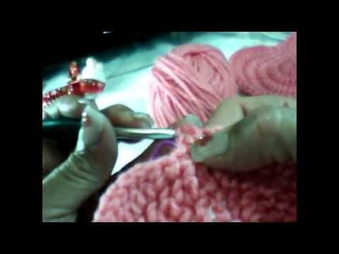 Corazón grande a crochet (ZURDO)