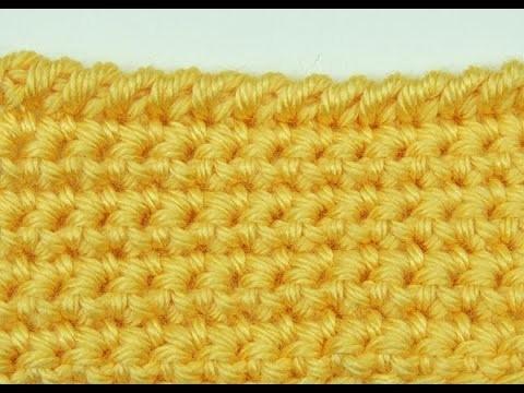 Crochet: Borde Punto Cangrejo