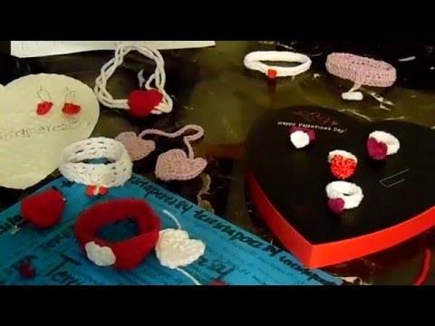 Crochet Hearts. Crazones de crochet