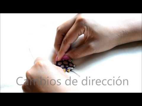 Crochet irlandés - Introducción a las redes - Posición de las manos