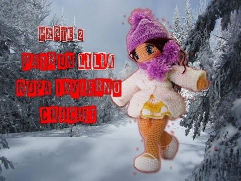 Crochet muñeca, ropa de invierno, parte 2
