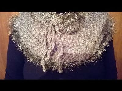 Cuello de terciopelo a ganchillo. crochet