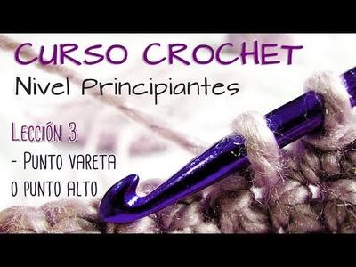 CURSO CROCHET para Principiantes - Lección 3