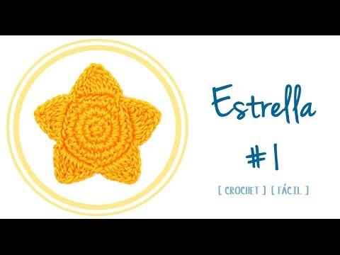 ESTRELLA A CROCHET (#1) | Patrones Valhalla