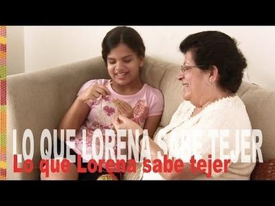 ¡Lo que Lorena sabe tejer a crochet y más. !