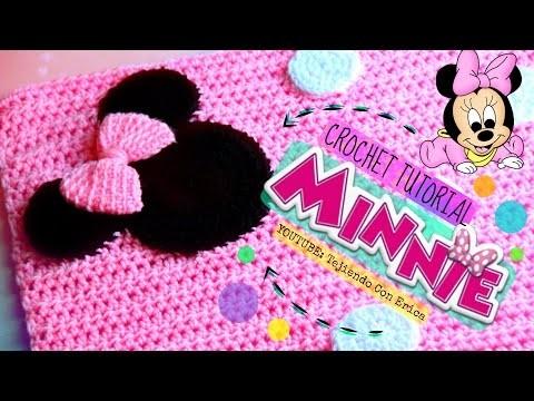 Minnie Mouse CROCHET COBIJA TUTORIAL   Tejiendo Con Erica