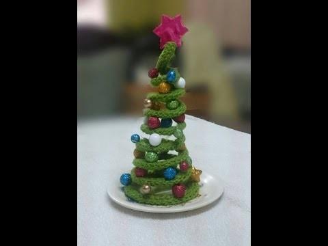 Tutorial Árbol de Navidad de Crochet