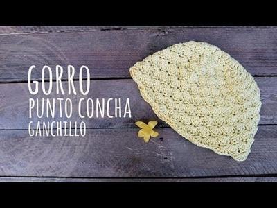 Tutorial Gorro Punto Conchas Ganchillo | Crochet
