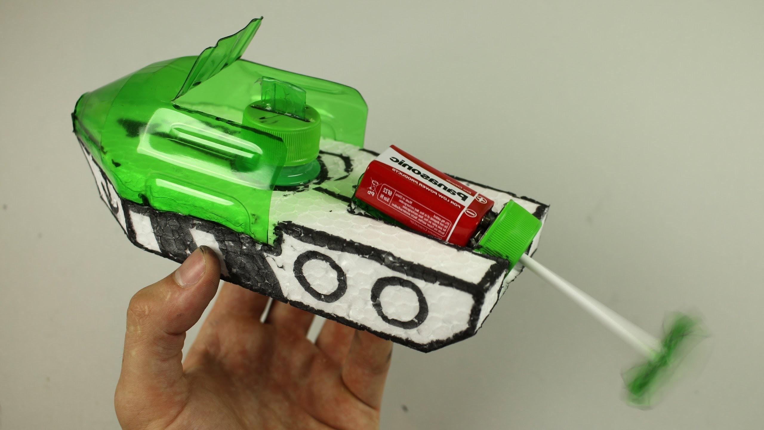 How to make an Electric Boat - (Very Easy) - Cómo hacer un barco eléctrico - (Muy Fácil)