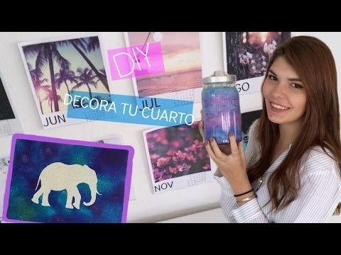 DIY: Decora tu cuarto | Room Decor
