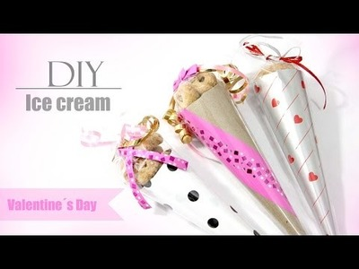 DIY  ICE CREAM. Valentine´s Day