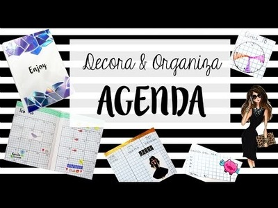 DIY Personaliza tu agenda ♡   Planner | Regreso a clases | Trilce Arana