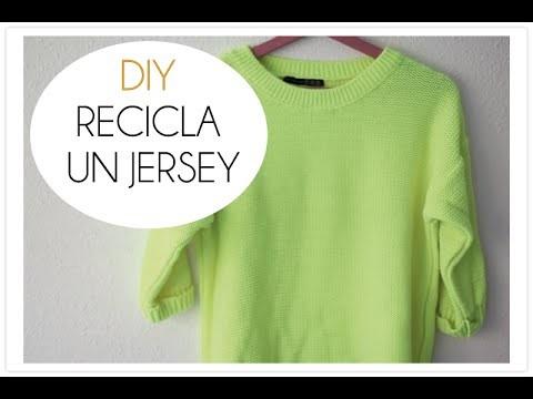 DIY recicla un jersey