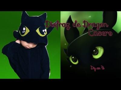 Disfraz de dragón || DIY con Pe