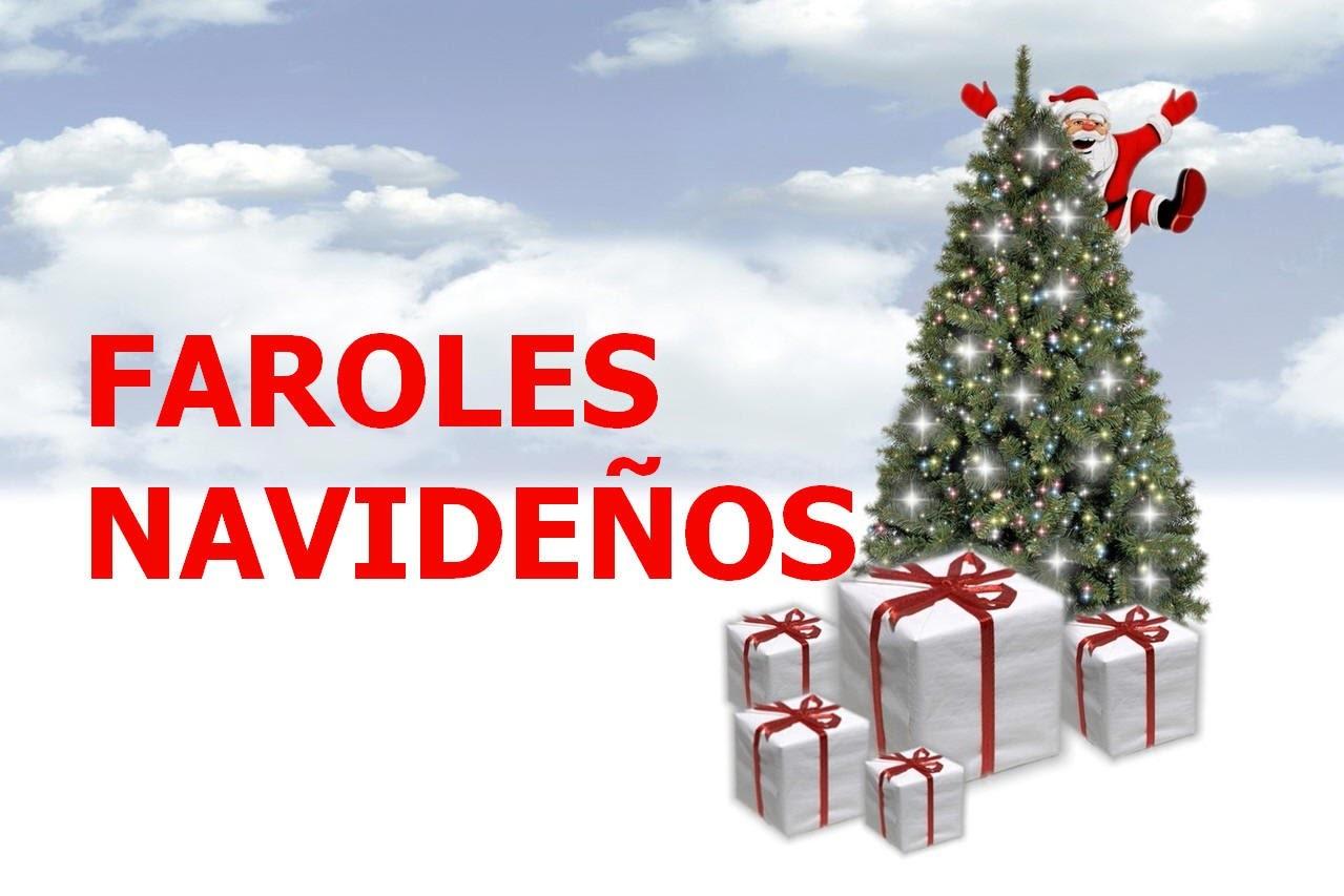 Faroles Navideños. Diy