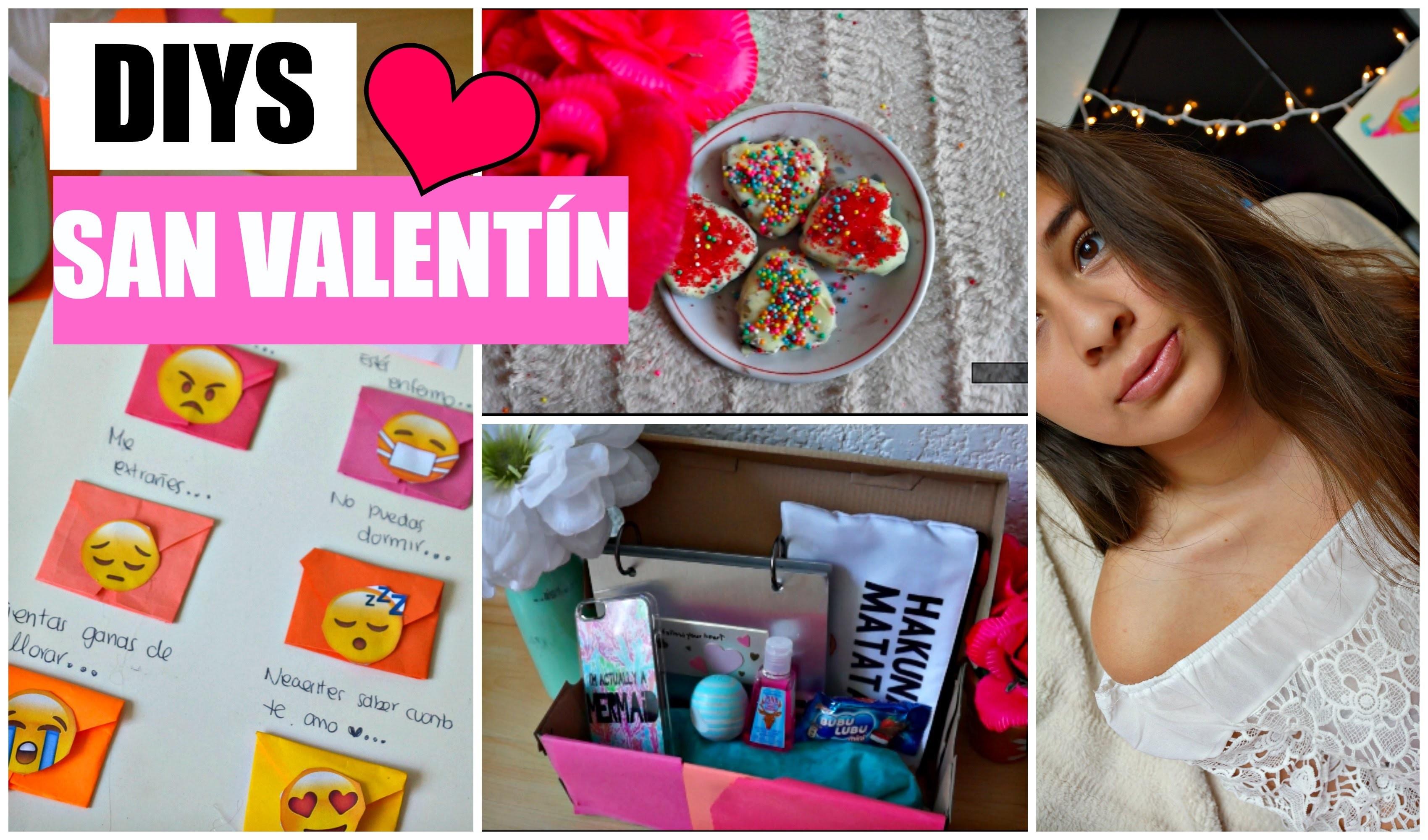 3 Ideas para regalar en San Valentín! DIY- Súper fáciles! ♡