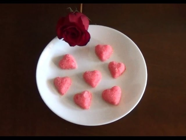 Corazónes de azúcar   DIY
