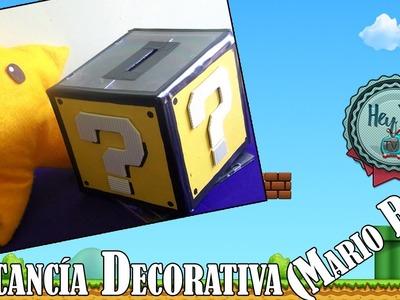 DIY: Alcancía Decorativa (Mario Bros) Reciclando Cajitas de CD ❤ ||| HeyyouTV!