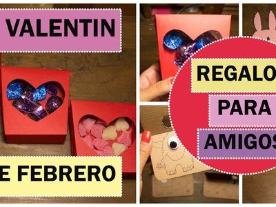 DIY | Ideas De Regalos Para Amigas | San Valentin | 14 de Febrero ♡