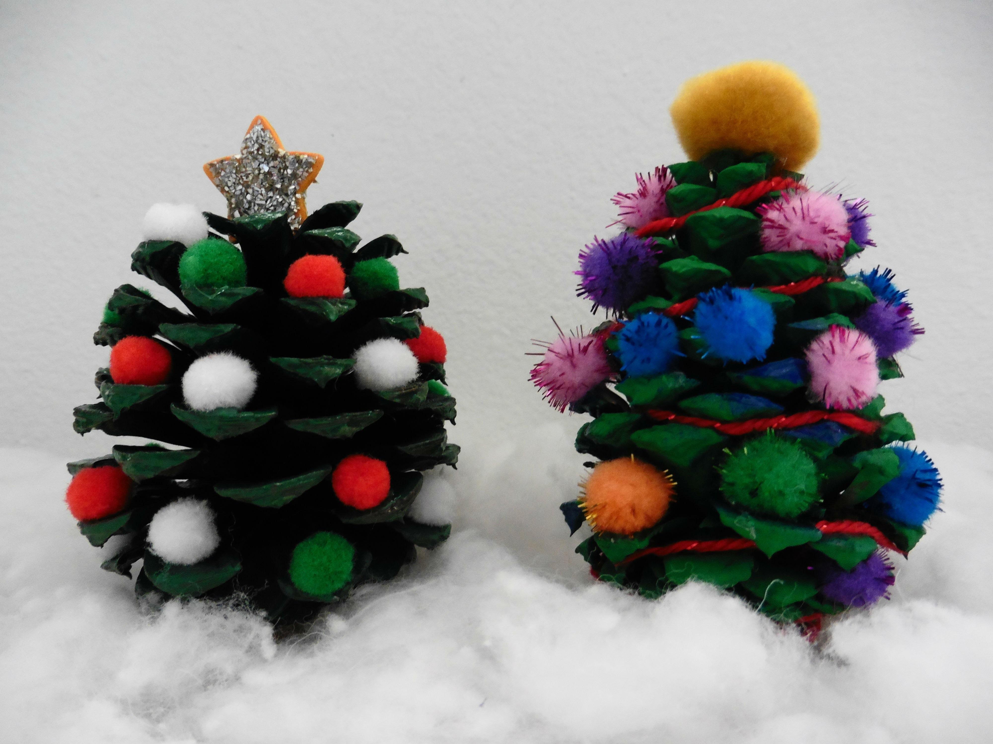 DIY- Pinitos de Navidad - Creative Flower