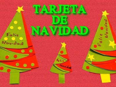 Tarjetas de Navidad hechas a mano con Frases de Navidad, Manualidades de Papel