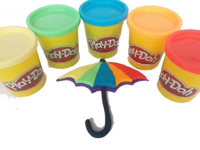 Paraguas Multicolor Play Doh | Play Doh Rainbow Umbrella
