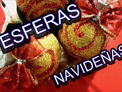 DIY adorno navideño (esferas)