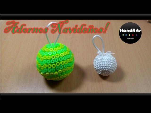 Adornos Navideños | Angel Martinez | Christmas Ornaments | Perler Beads