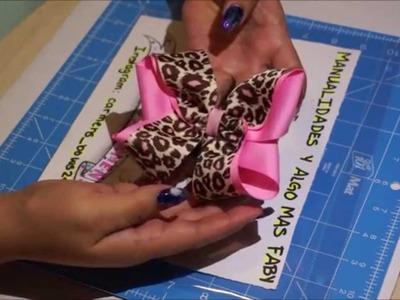Como hacer un moño doble o Moño boutique DIY [8]