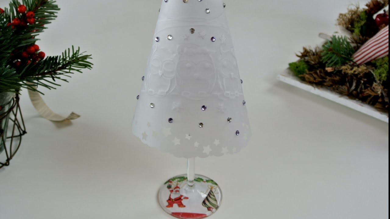Manualidades navideñas – Lamparas de Navidad | Christmas decorations - Christmas lights