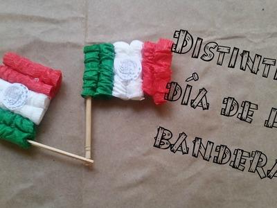 Distintivos día de la Bandera DIY super faciles