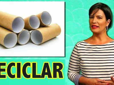 ¿ Cómo Reciclar Material Desechado del Hogar ? | DIY | Tips útiles | Ellen Te Dice
