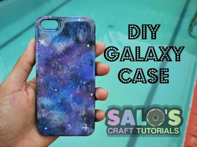 Tutorial: Como hacer una Funda de telefono o carcaza de galaxia. DIY Galaxy phone case