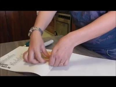 Tutorial DIY Des encuadernar