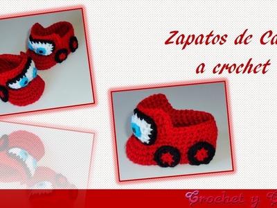 Zapatos de carros para bebés tejidos a crochet – Parte 2