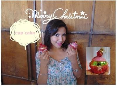 DIY- CUP CAKE- ADORNO PARA ARBOL ( PROYECTO NAVIDAD )