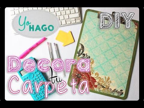 DIY - Decora tú Carpeta