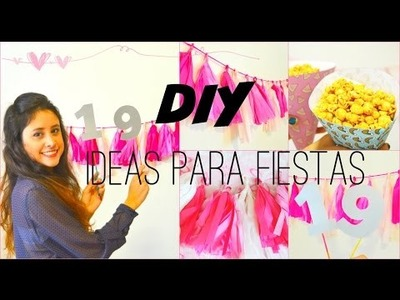 DIY: Decoración para Fiestas - Party Ideas | El Baúl de Carmencita