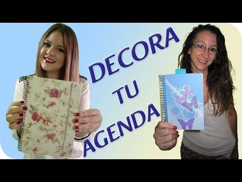DIY ¡PERSONALIZA Y DECORA TU AGENDA! |  BACK TO SCHOOL 2015.2016 ✏️