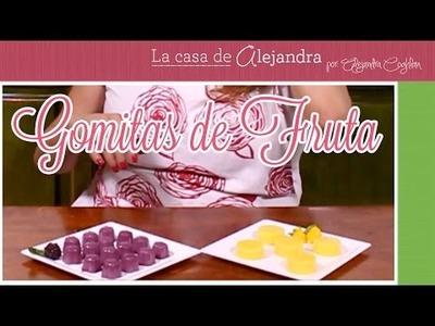 Gomitas de Fruta - DIY. Alejandra Coghlan