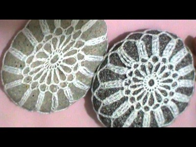 Aprende a tejer una linda piedra a crochet