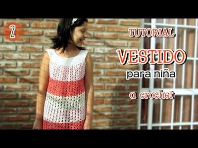 Como tejer vestido de verano para niña en cualquier talle (2.2)