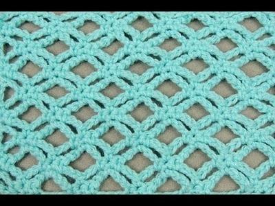 Crochet: Punto Enrejado # 3